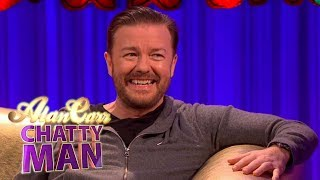 Ricky Gervais Becomes Friend With Kermit The Frog | Full Interview | Alan Carr: Chatty Man
