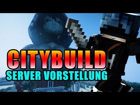 Minecraft City-Build Server 1.8 [FreeBuild/Wirtschaft/Modern]