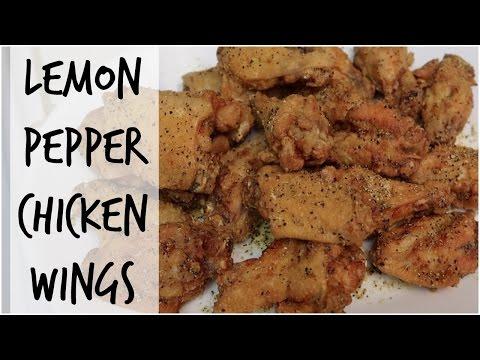 LEMON PEPPER CHICKEN WINGS | MelBeezee Cooks