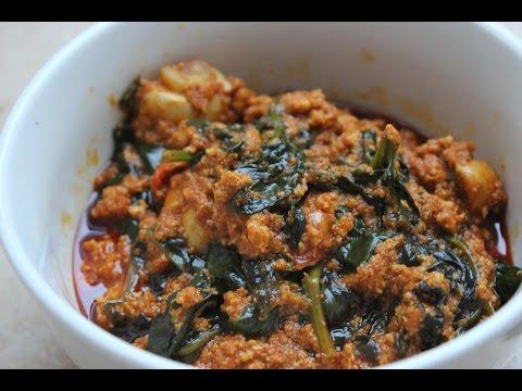 Inmylilkitchen: Spinach Stew /Palava Sauce/Kontomire Stew