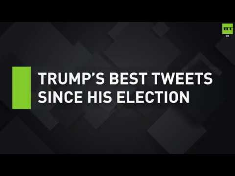 A year on: Donald Trump's best tweets since winning US election