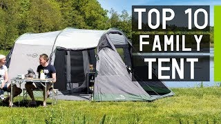 Top 10 Best Large Family Camping Tents