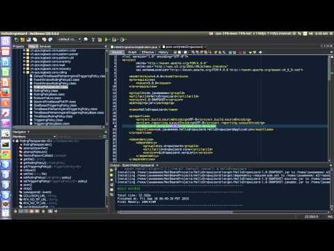 Creating Dropwizard project from Maven archetype using Netbeans