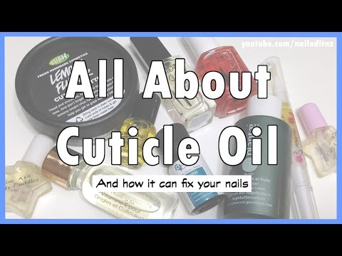 Cuticle Oil | The BEST thing you can do for your nails!