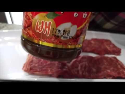 Korean Kalbi: how to cut and marinate short ribs