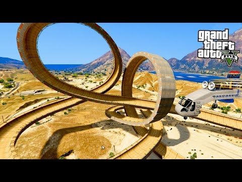 GTA 5 CRAZY OBSTACLE CHALLENGE