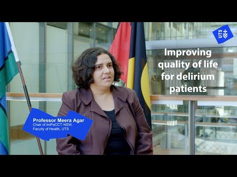 Improving quality of life for delirium patients and families