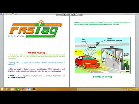 what is Fastag and what its benefits