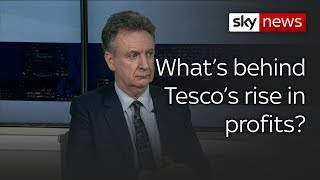 HSBC analyst says Tesco's profit increase driven by