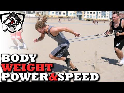 3 Bodyweight Exercises for Speed & Power (Kick Harder, Jump Higher, Run Faster)