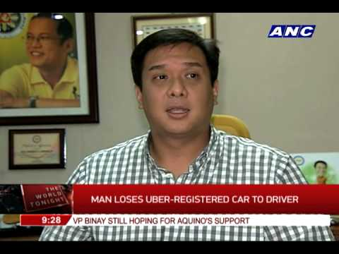 Man loses Uber-registered car to driver