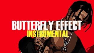 Travis Scott - Butterfly Effect (Instrumental)