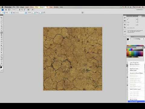 Photoshop Tutorial: Repeating Texture