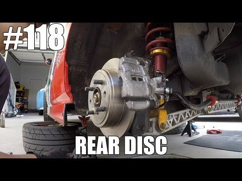 HONDA CIVIC REAR DISC CONVERSION +HOW TO?