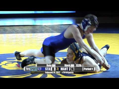Wrestling - Mahtomedi vs St. Thomas Academy - 2/9/17