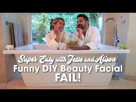 Funny DIY Facial Mask Fail, pt.1