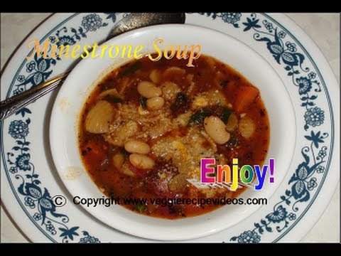 Minestrone Soup recipe video - Quick & Easy Single pot cooking by Bhavna