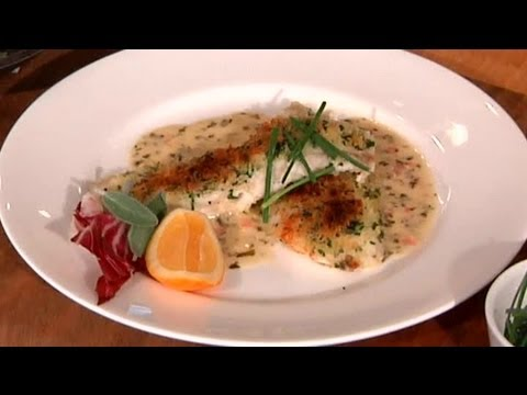 Herb-Crusted Tilapia With Lemon Butter Sauce : Coastal Flavors