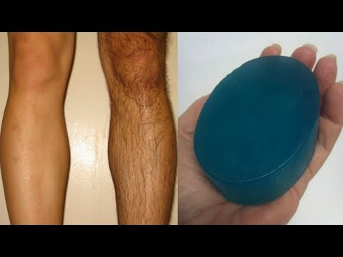 Homemade Hair Removal Soap / Removal Facial & Body Hair Permanently At Home