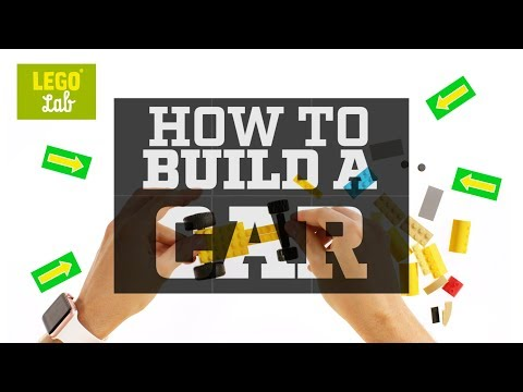 How To Build A LEGO Car