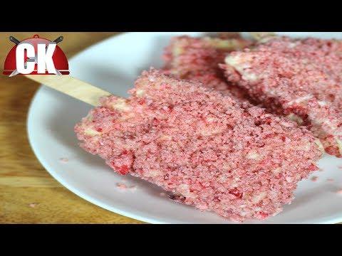 How to Make Strawberry Shortcake Ice Cream Bars!