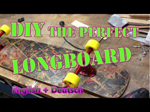 How to build a perfect Longboard the easy way: IRON MAN Board