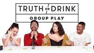 Friends Play the Game Truth or Drink (Yana, Chan, Bjork, Braidon) | Truth or Drink | Cut