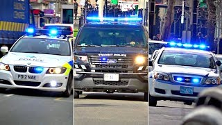 Police Car Responding Compilation: BEST OF jan - june 2018 Lights and Sirens