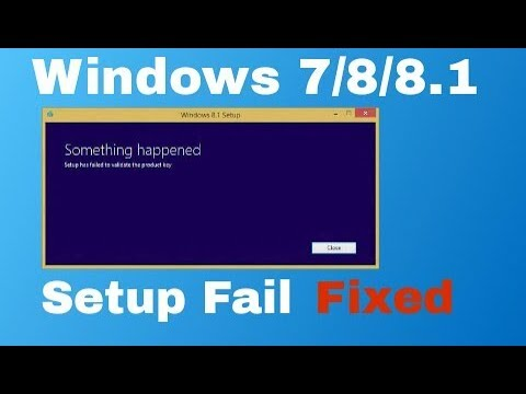 Setup has failed to determine supported install choices in WINDOWS 8.1    FIXED   