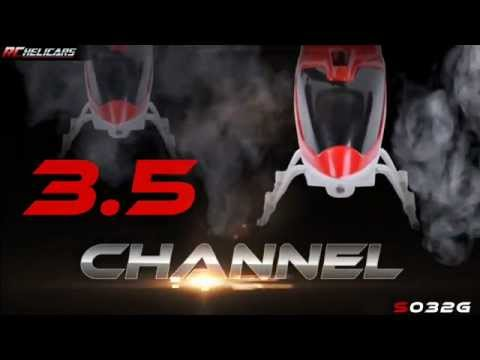 Rchelicars - Syma S032G Remote Controlled Helicopter