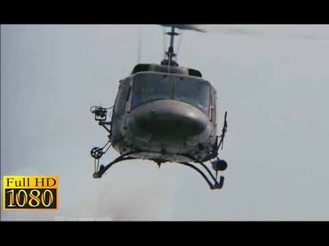 Rambo First Blood 2 (1985) - Helicopter Attacking Scene (1080p) FULL HD