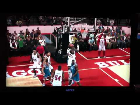 Nba 2k12 greatest legend - michael jordan dunk on