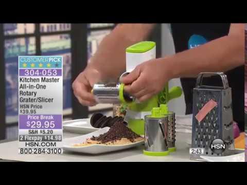 Kitchen Master AllinOne Rotary Grater/Slicer