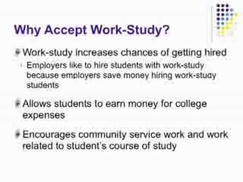What is Work-study?