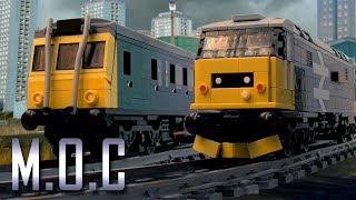 2 x lego class 37's with tankers Videos & Books
