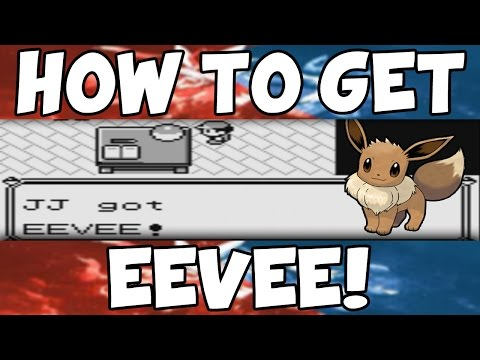 How to get Eevee on Pokemon Red/Blue!