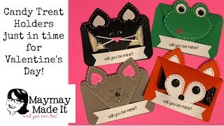 Cat, Fox, Mouse and Frog OH MY! Valentine Treat Holder Tutorial