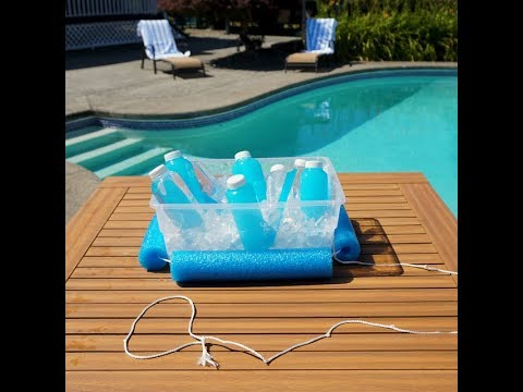 Zillow #Homemade Hack: How to Build a Floating Cooler