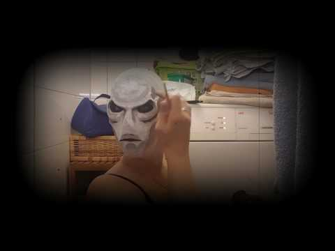 fx gelatin Alien mask