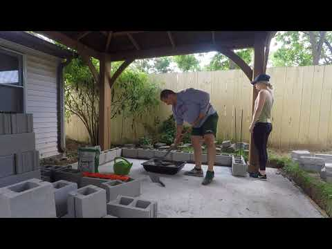 My Affordable Patio Project! DIY Pompeii Wood Fired Pizza Oven, Gazebo, and More!
