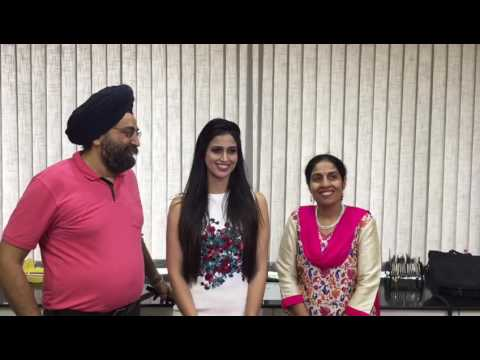 Leading Tamil and Telgu movies Actress  Samaira Sandhu at The Perfect Smile Dental Clinic-2