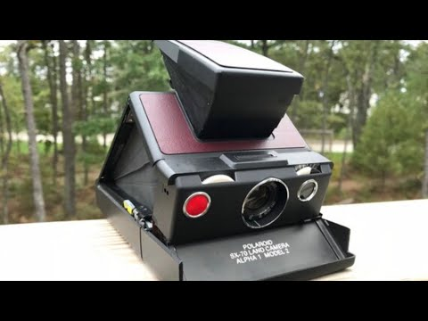 Polaroid SX-70 Instant Film Camera Tutorial | Forward Cameras | Vintage Film Camera Shop