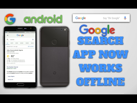 Google App for Android Gets 'Offline Search' Quick Look