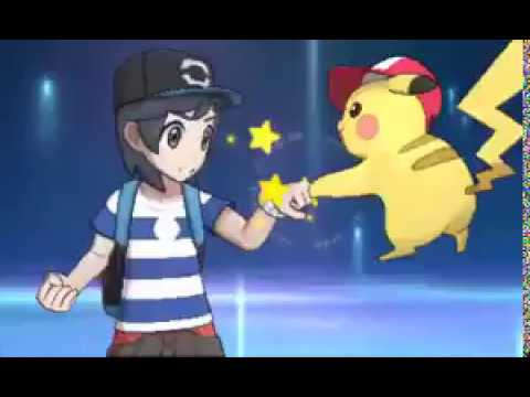 First Look at Ash Hat Pikachu in  Pokemon Sun and Moon