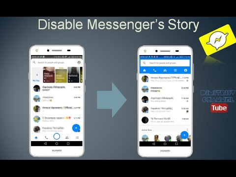 Disable Facebook Messenger's Story