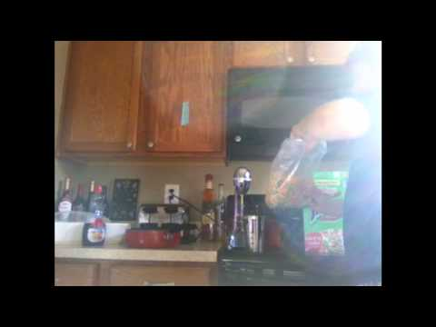 how to cook stuff:  black rasberry milkshake