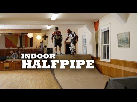 Indoor Half Pipe
