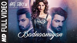 Badnaamiyan Full Video Song |  Hate Story IV | Urvashi Rautela | Karan Wahi | Armaan Malik