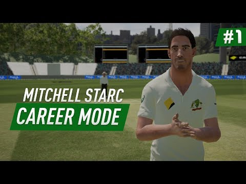 DREAM START!! - DBC 17 | Mitchell Starc Career Mode #1