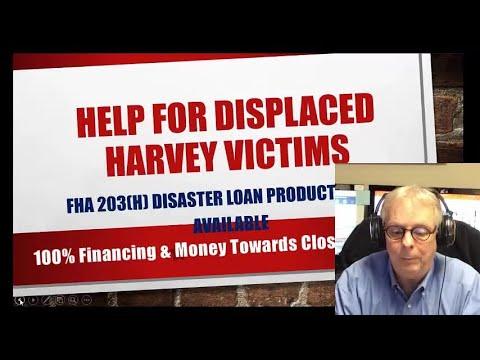 Hurricane Harvey Home Loan Disaster Relief Reminder In Porter